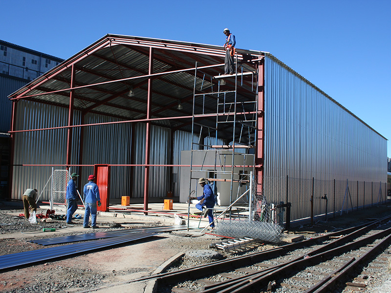 Bloemfontein Steel Structure Construction