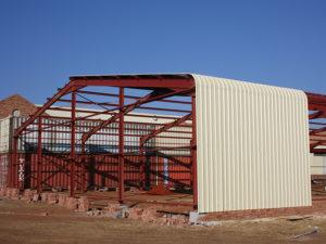 Boksburg Steel Structure Construction