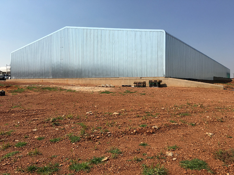 Bronkhorstspruit Hangar Construction
