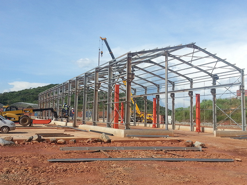Congo Steel Structure Construction