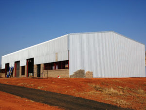 Harrismith Steel Structure Construction