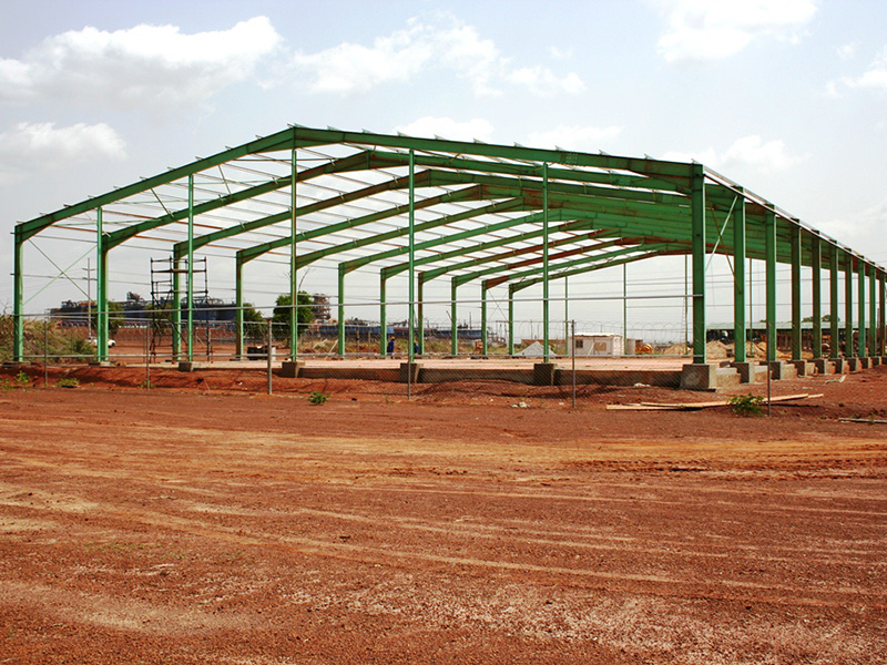 Ivory Coast Steel Structure Construction