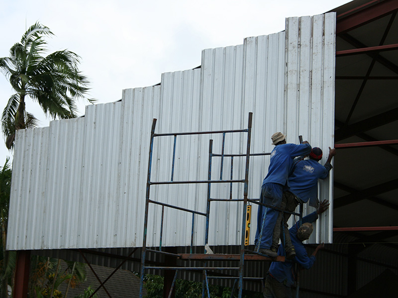 Magaliesburg Steel Structure Construction