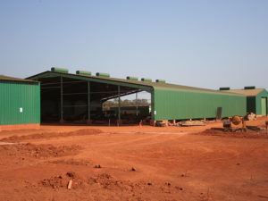 Mali Steel Structure Construction