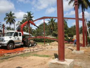 Mozambique Steel Structure Construction
