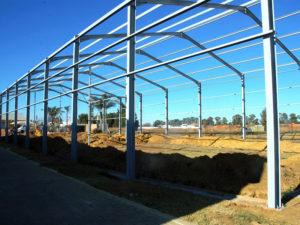 Pomona Steel Structure Construction
