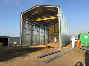 Putfontein Steel Structure Construction