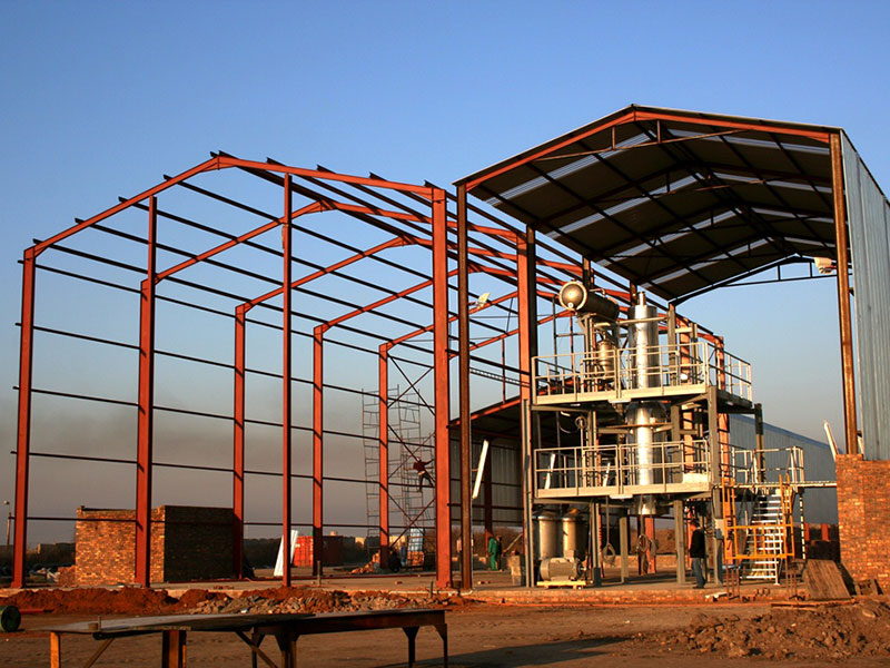 Nigel Warehouse Construction