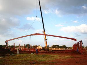Swartklip Steel Structure